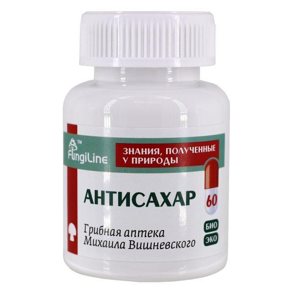 Антисахар, банка 60 капсул