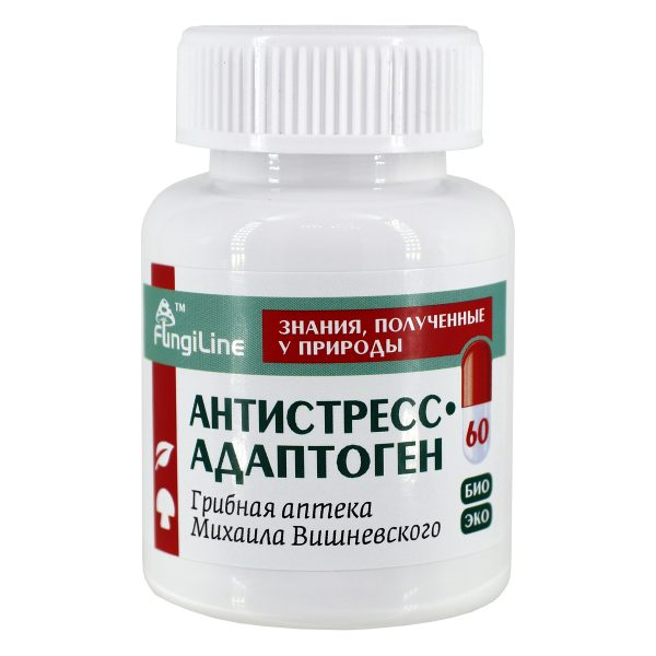 Антистресс – адаптоген, банка 60 капсул