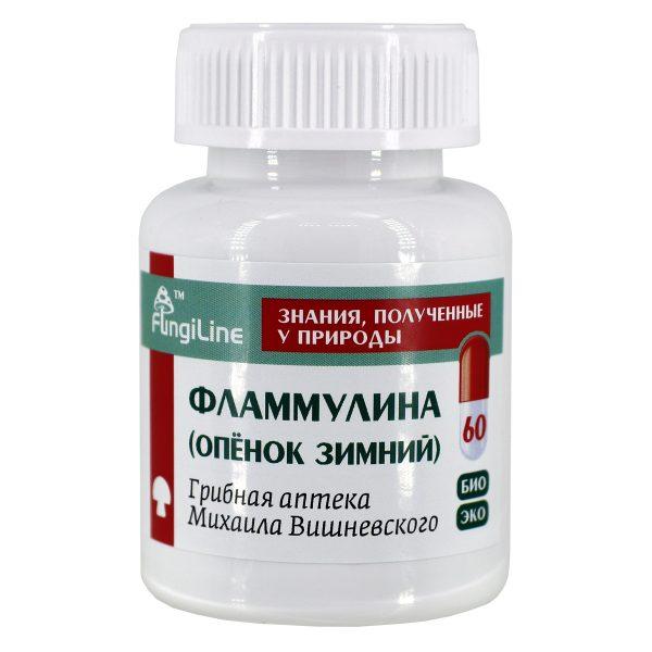 Фламмулина, банка 60 капсул