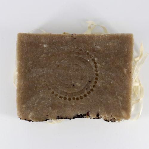 Натуральное мыло ручной работы «Чага, бергамот и розмарин», вес 100 г