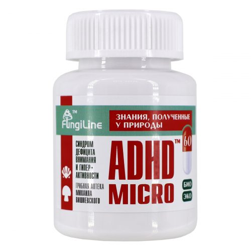 Микродозинг ADHD-Micro™, банка 60 капсул