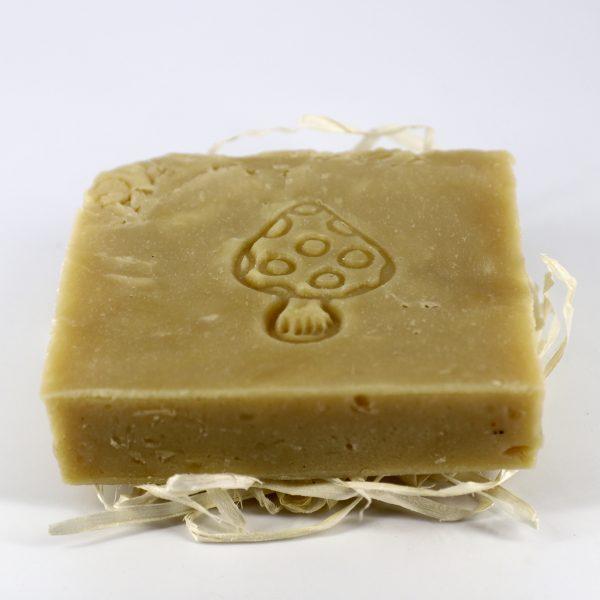 Натуральное мыло ручной работы «Мухомор и Ель», брусок