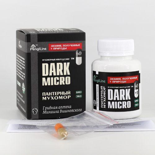 Мухоморный микродозинг DarkMicro, 60+1 капсула